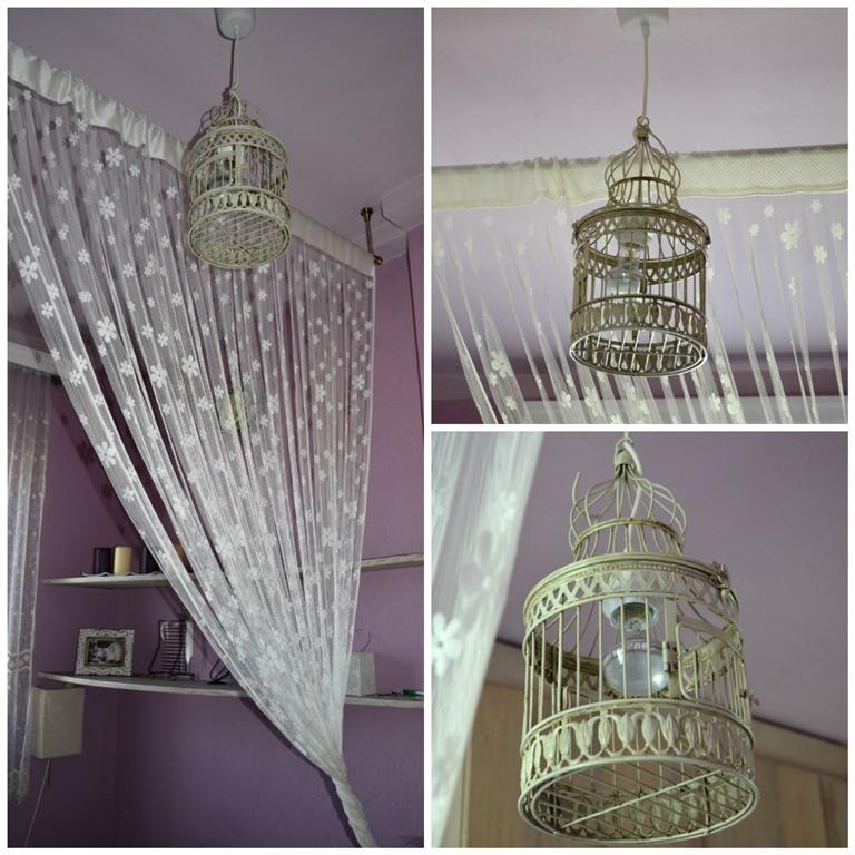 vintage lámpa kalitkából